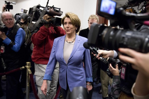 u-s-house-minority-leader-nancy-pelosi-d-ca-arrives-to-meet-with-house-democrats-and-u-s-vice-president-joseph-biden-about-a-solution-for-the-fiscal-cliff-on-capitol-hill-in-washington-january-1