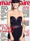 Heidi Klum on the cover of Marie Claire magazine