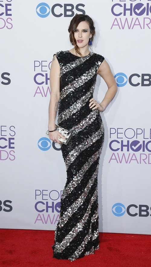 Actress Rumor Willis poses as she arrrives at the 2013 People&#039;s Choice Awards in Los Angeles, January 9, 2013. 