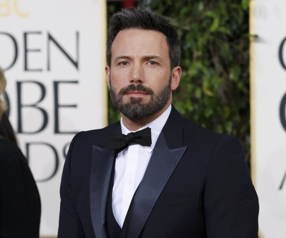 "Director and actor Ben Affleck, from the film ""Argo,"" arrives at the 70th annual Golden Globe Awards in Beverly Hills, California, January 13, 2013."