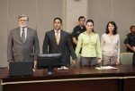 """A scene from Lifetime's movie """"Prosecuting Casey Anthony"""" is shown in this handout picture."""