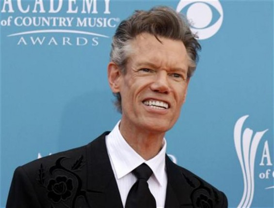 Singer Randy Travis arrives at the 45th annual Academy of Country Music Awards in Las Vegas, Nevada April 18, 2010.