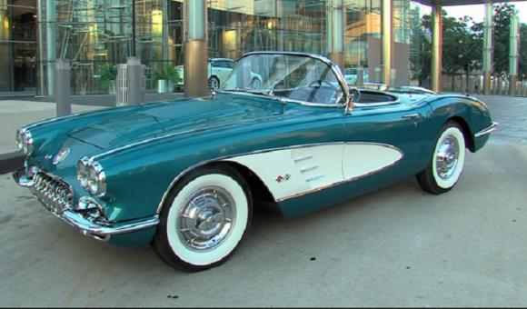 a 1958 Chevrolet Corvette