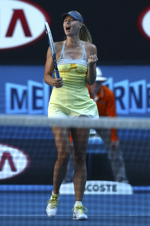 Maria Sharapova of Russia 