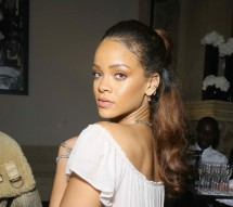 Rihanna at the Vogue 95th Anniversary Party