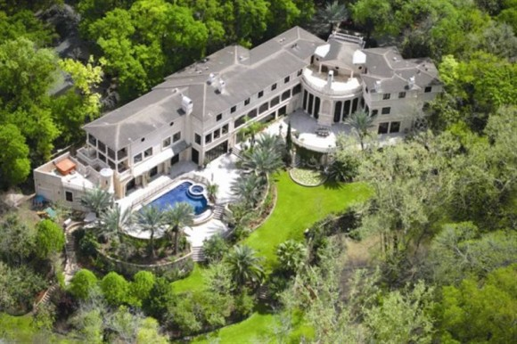 Beyonce's Houston Mansion