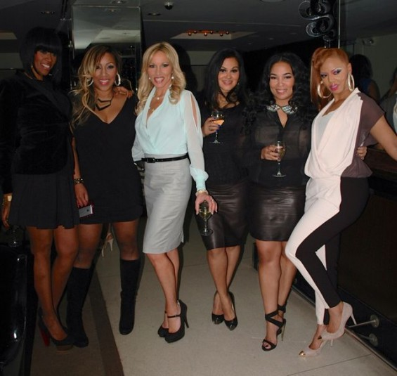 The cast of TLC&#039;s &#034;Starter Wives Confidential&#034;
