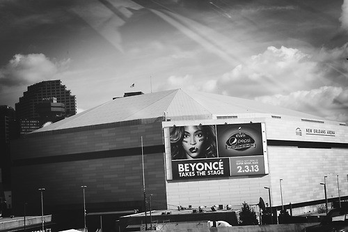 Mercedes Benz Superdome in New Orleans