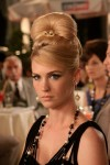 January Jones at Betty Draper on AMC&#039;s Mad Men 