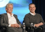 Michael Douglas and Matt Damon