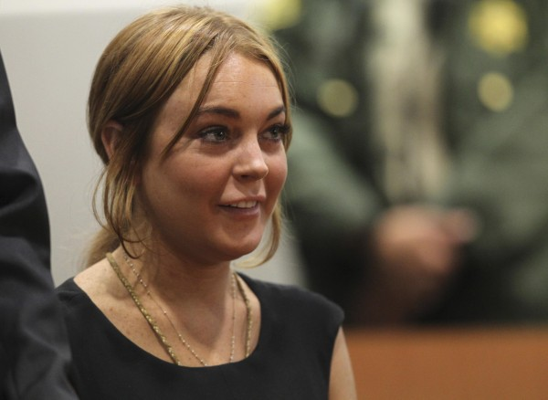 Actress Lindsay Lohan attends a probation violation hearing at Airport Branch Courthouse in Los Angeles, California January 30, 2013.