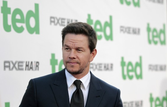 Cast member Mark Wahlberg poses at the premiere of &#034;Ted&#034; at the Grauman&#039;s Chinese theatre in Hollywood, California June 21, 2012. The movie opens in the U.S. on June 29. 