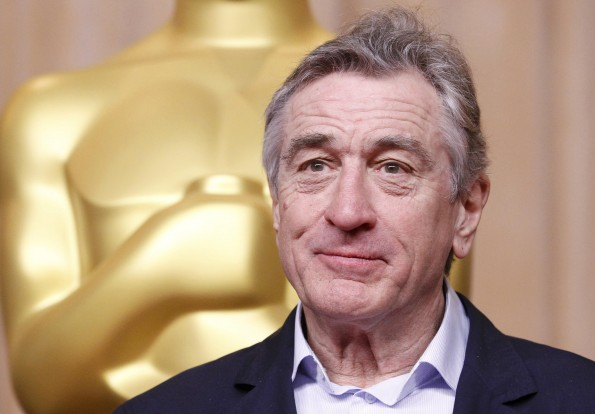 """Actor Robert De Niro, nominated for best supporting actor for his role in """"Silver Linings Playbook"""", attends the 85th Academy Awards nominees luncheon in Beverly Hills, California February 4, 2013."""
