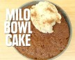 Milo Bowl Cake