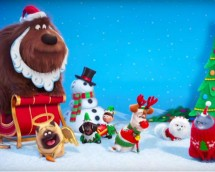 Secret Life of Pets Holiday Trailer