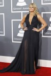 Country singer Miranda Lambert arrives at the 55th annual Grammy Awards in Los Angeles, California February 10, 2013.