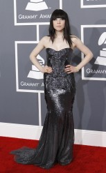 Pop singer Carly Rae Jepsen arrives at the 55th annual Grammy Awards in Los Angeles, California February 10, 2013.