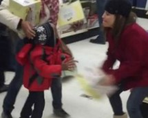 Woman Steals From Kid