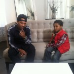 Mandeecees Harris and son