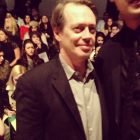 Steve Buscemi at the Nanette Lepore fashion show