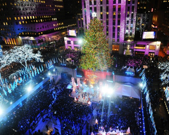 Rockefeller christmas tree lighting live online where to watch 2015