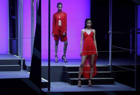 Rihanna for River Island Fashion Show