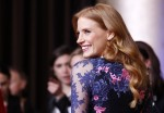 "Jessica Chastain, nominated for best actress for her role in ""Zero Dark Thirty"", arrives at the 85th Academy Awards nominees luncheon in Beverly Hills, California February 4, 2013."