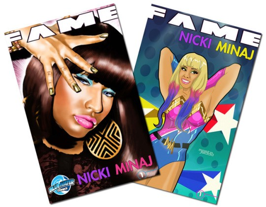 Nicki Minaj comic book covers