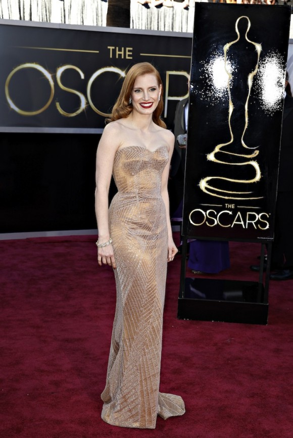 No. 8 Jessica Chastain