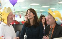 Kate Middleton Attends ICAP Charity Day