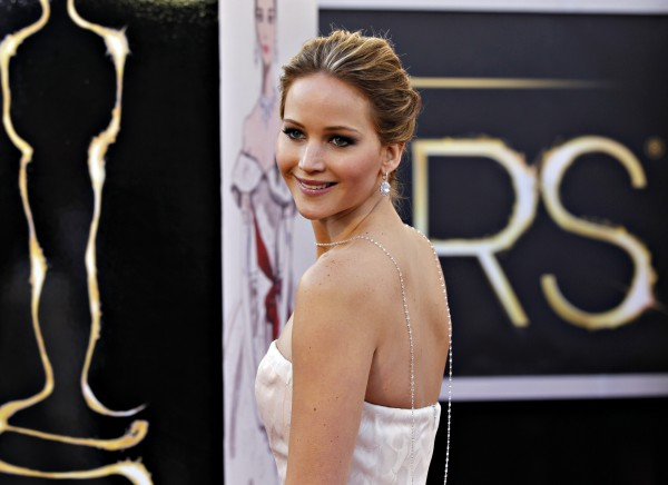 Best Actress nominee Jennifer Lawrence for her role in &#034;Silver Linings Playbook&#034; arrives at the 85th Academy Awards in Hollywood, California February 24, 2013. 