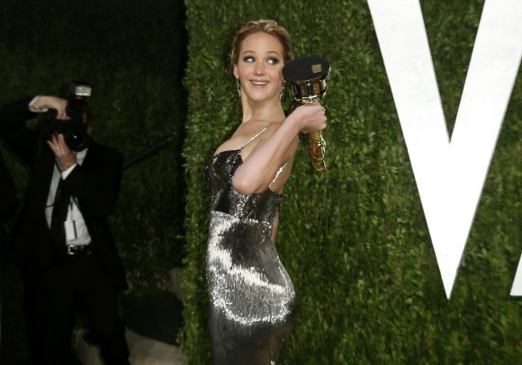 No. 2 Jennifer Lawrence