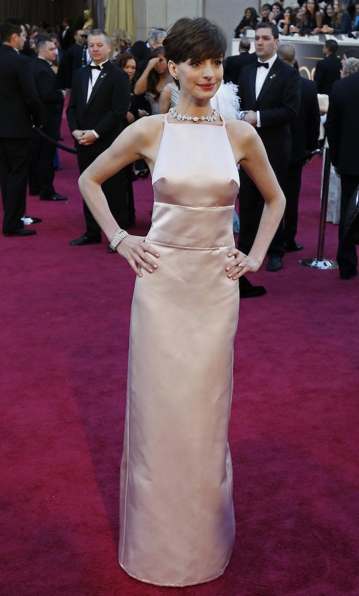 Anne Hathaway I... Anne Hathaway Oscar Incident