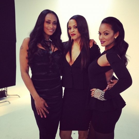 Basketball Wives stars Tami Roman, Shaunie Oneal and Evelyn Lozada