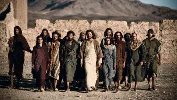 "A scene from History Channel's TV Show ""The Bible&#034"