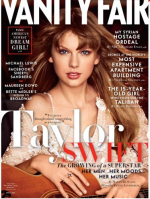 Taylor Swift on the cover of Vanity Fair, April 2013 issue