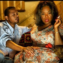 Terrance Howard and Oprah Winfrey