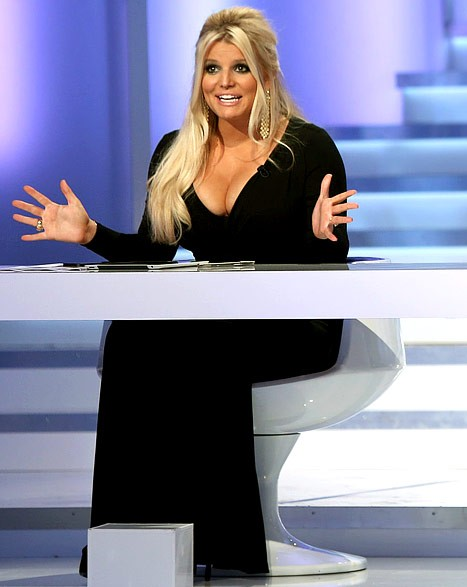 "Jessica Simpson on ""Fashion Star"""