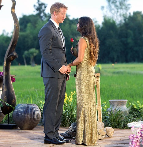 &#034;The Bachelor&#034; stars Sean Lowe and Catherine Giudici