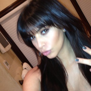 Kim Kardashian's New Haircut