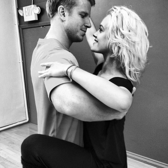 Sean Lowe with Peta Murgatroyd
