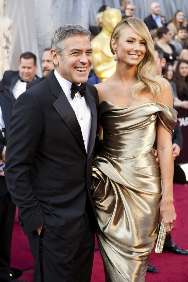 George Clooney and Stacy
