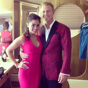 Sean Lowe and  Catherine Giudice