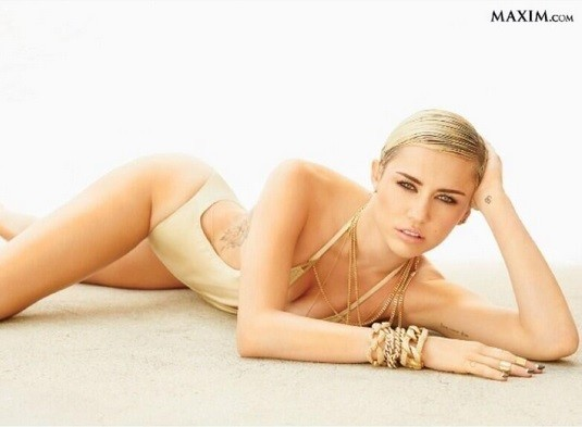 Miley Cyrus Maxim Top 100, 2013.