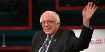 Bernie Sanders Reacts When Stephen Colbert Compares Him To Trump