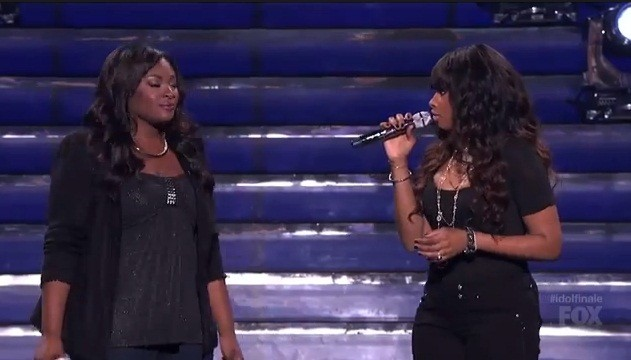 American Idol 2013 winner Candice Glover  took the stage at the American Idol finale Thursday with singer Jennifer Hudson to perform a duet of 'Inseparable' in one of the best performances of the nigh
