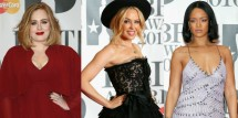 BRIT Awards Favorites: Kylie Minogue, Adele, Rihanna & More
