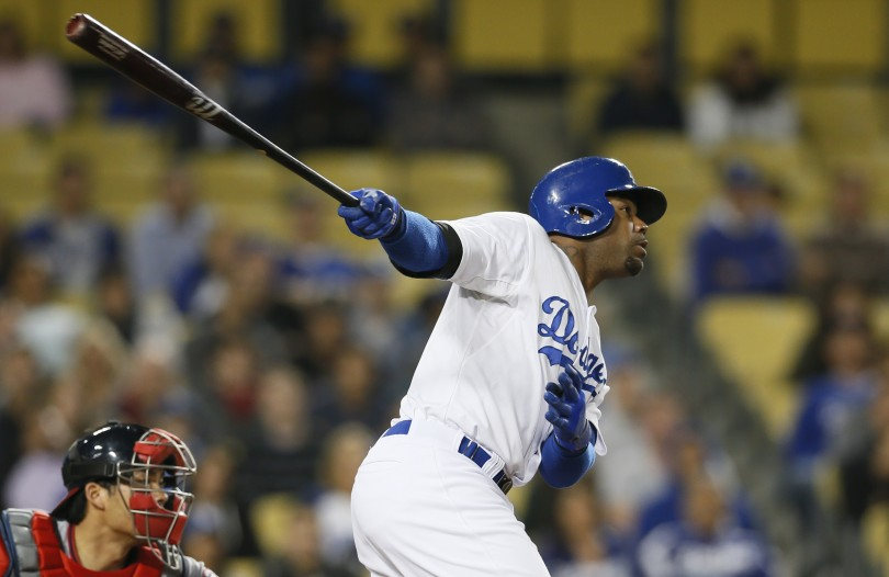Los Angeles Dodgers Carl Crawford