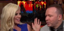 Jenny McCarthy & Donnie Wahlberg on 'Watch What Happens Live'