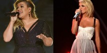 'American Idol' Alums Kelly Clarkson & Carrie Underwood